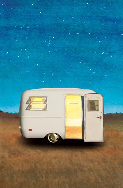 Gypsies, caravans and travel trailer