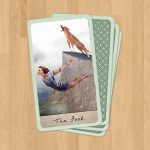 The Fool Tarot Card - Diving In, by S. Mattern