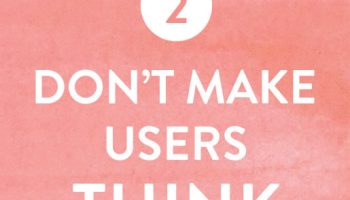 2. Don't Make Users Think