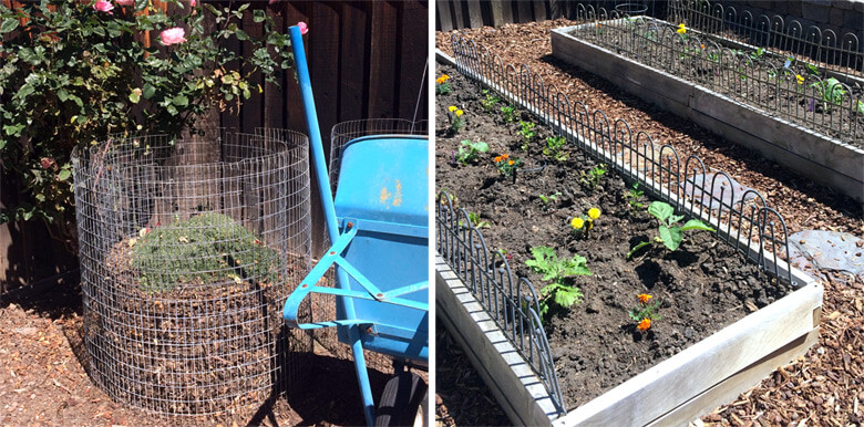 The Compost Heap & Garden Beds