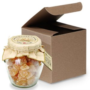 Simple, not-to sweet ginger candy gift