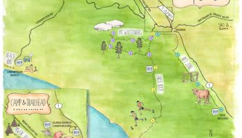Bear Valley Map