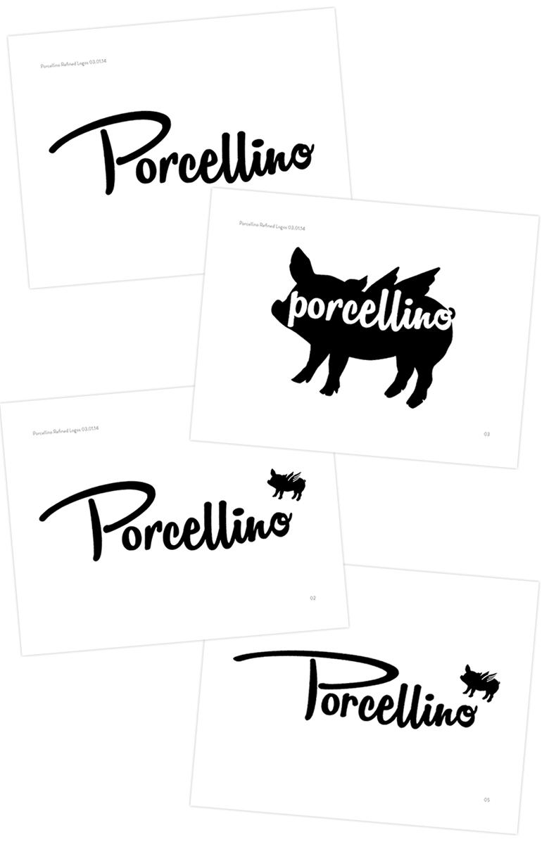 Porcellino Logo Round 3