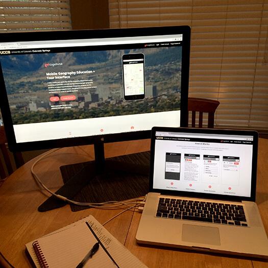 getCapstone Landing Page