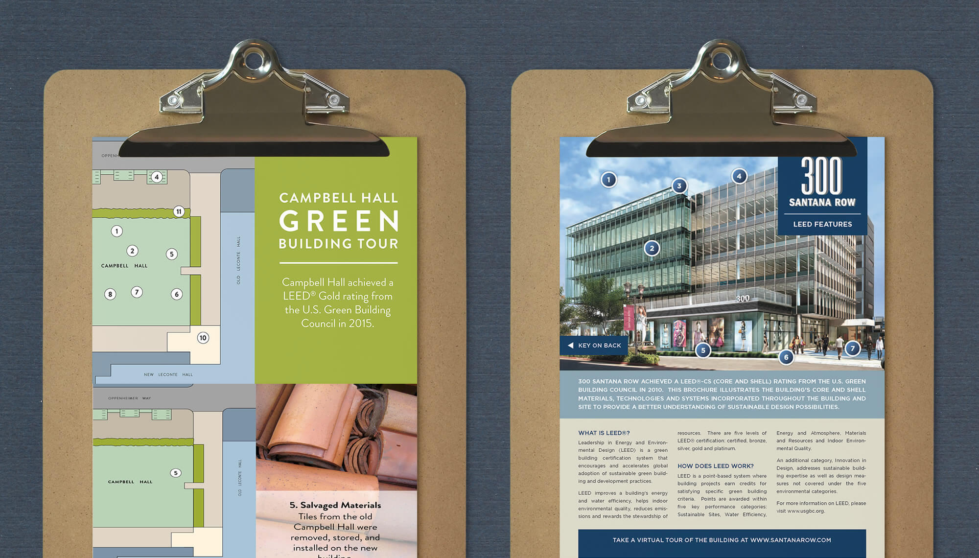 Green Building Tour and Publication Design