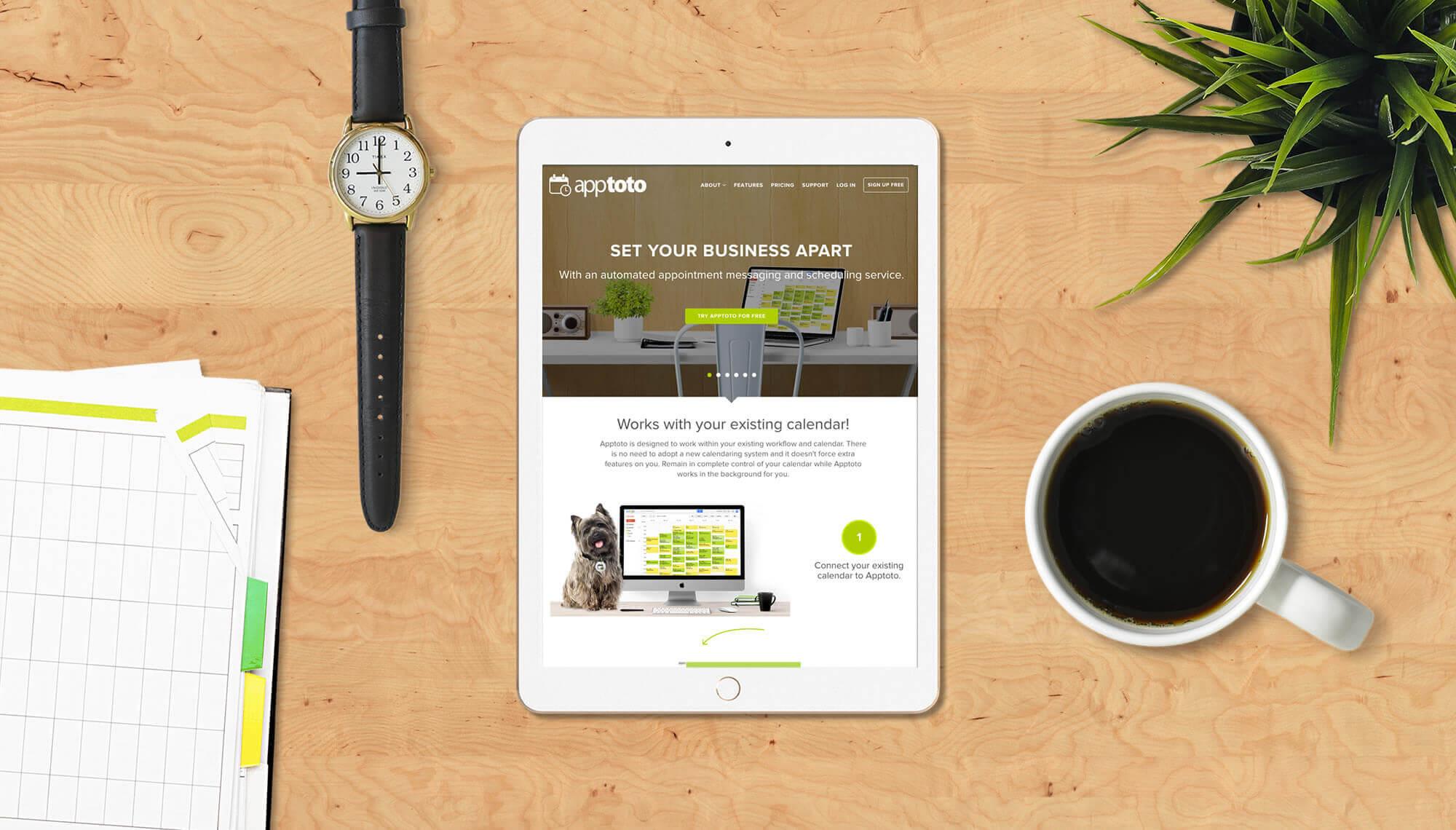 Apptoto Website by MatternCo