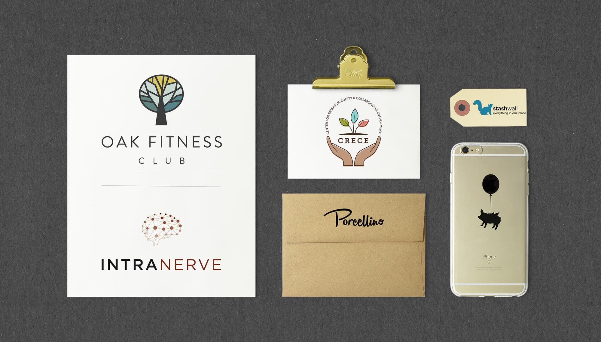 Logos! Designed by MatternCo