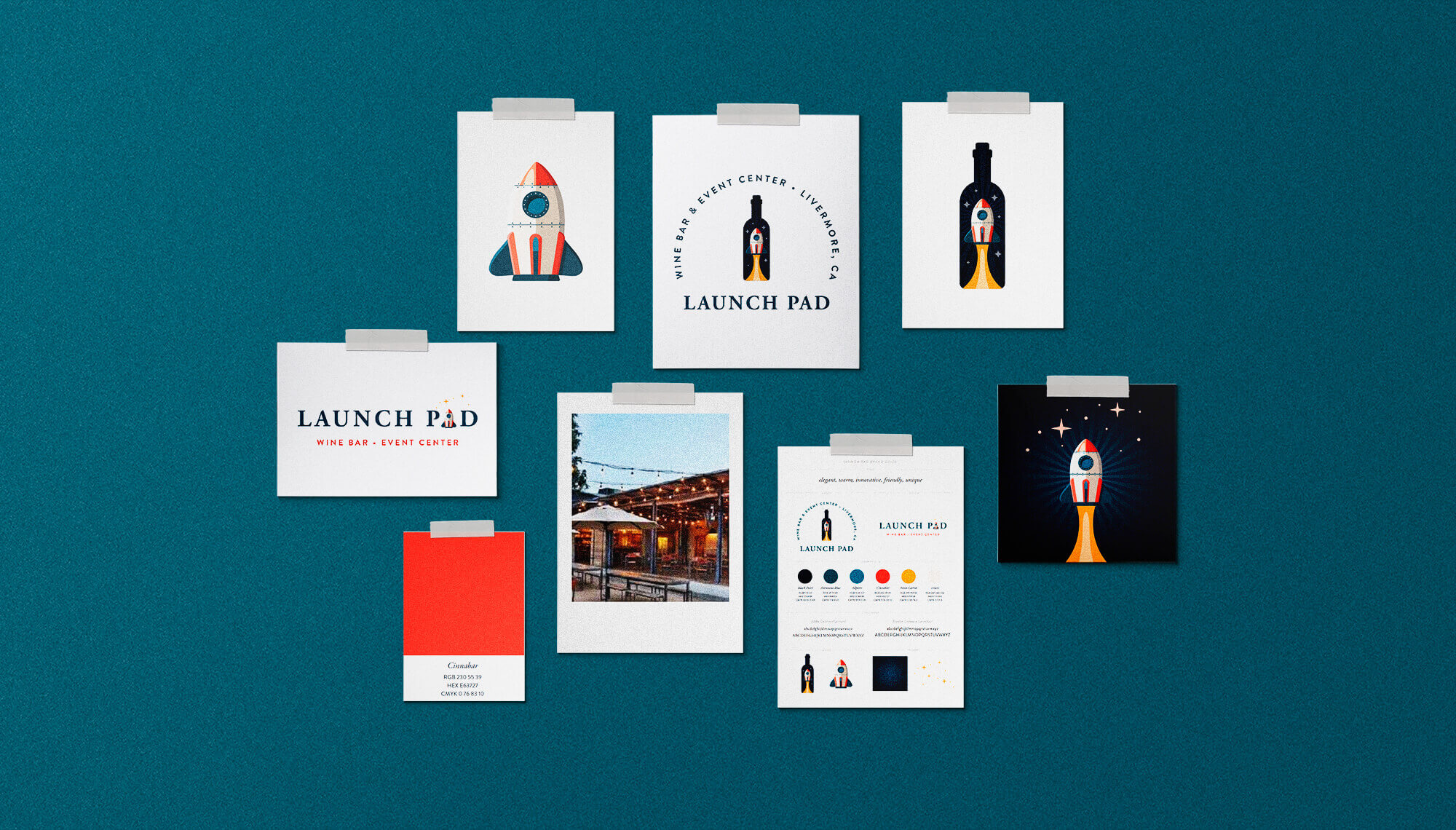 Launch Pad Branding & Logo Design