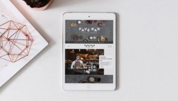 Pavé Bar Web Design & Shopify Development