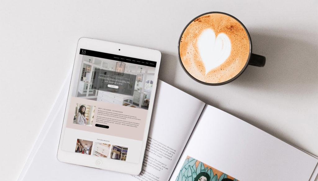 LA Closet Design Website Design and Development
