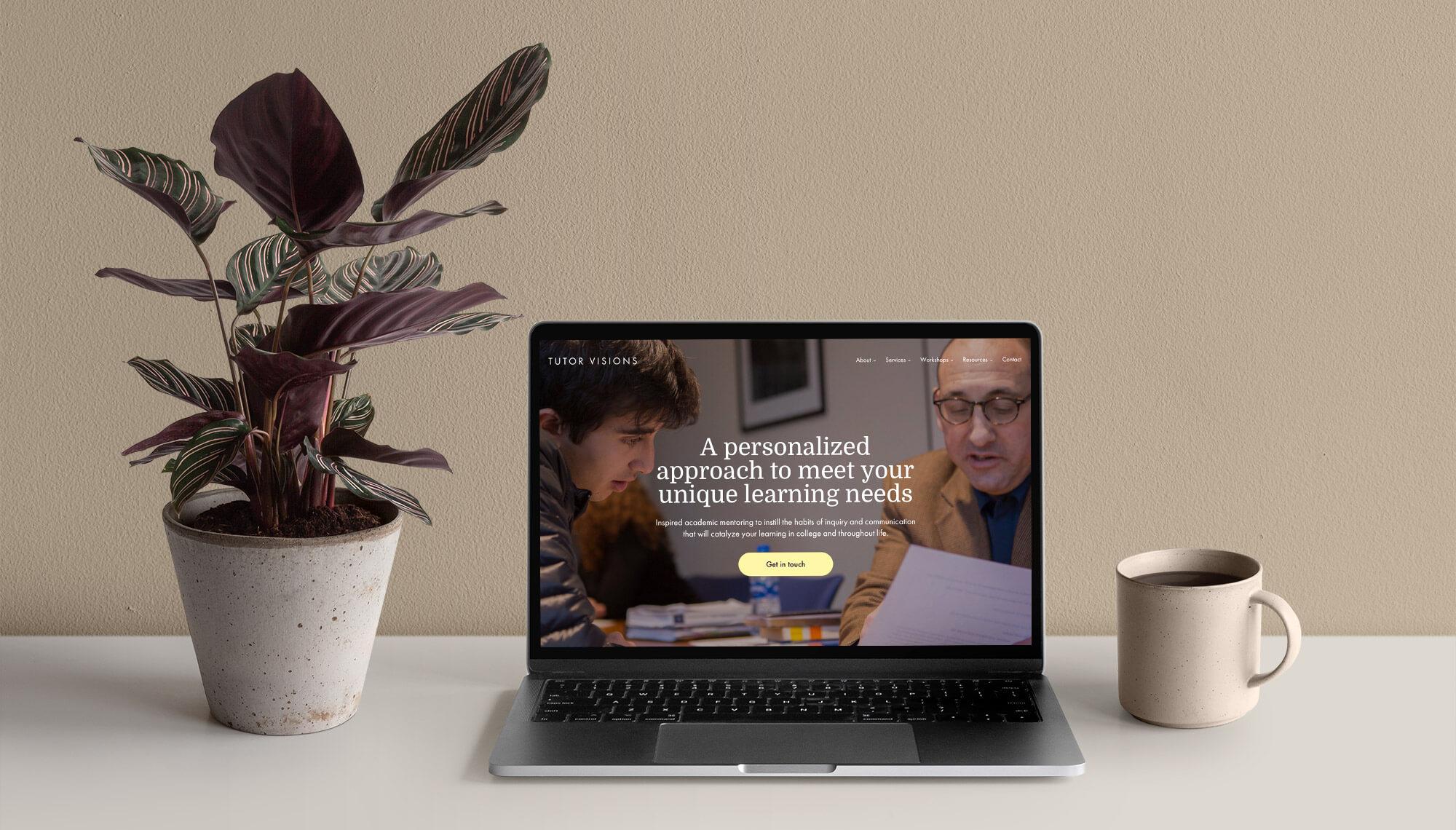 Tutor Visions Website Design and Development