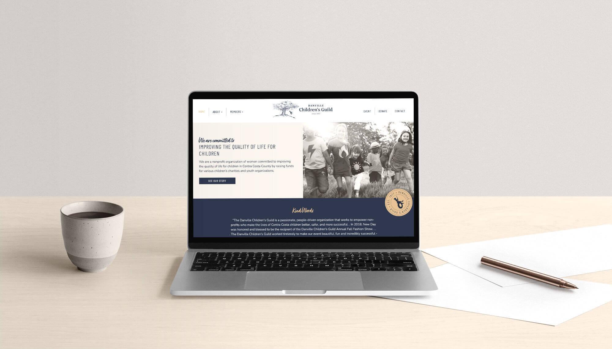 Danville Children's Guild Website Design and Development